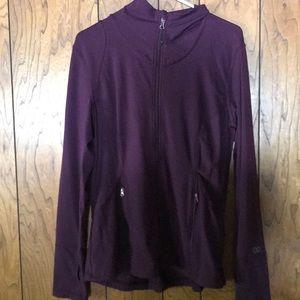 Calia Carrie Underwood brand purple jacket.
